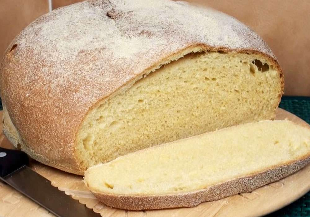Кукурузный хлеб - пошаговый рецепт, фото 1