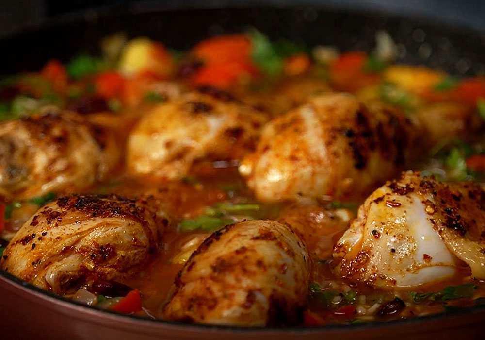 Курица по-мексикански - пошаговый рецепт, фото 1