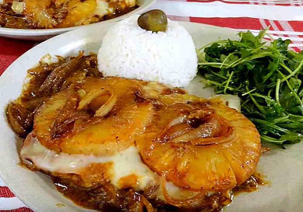 Курка з ананасами і сиром - покроковий рецепт, фото 1