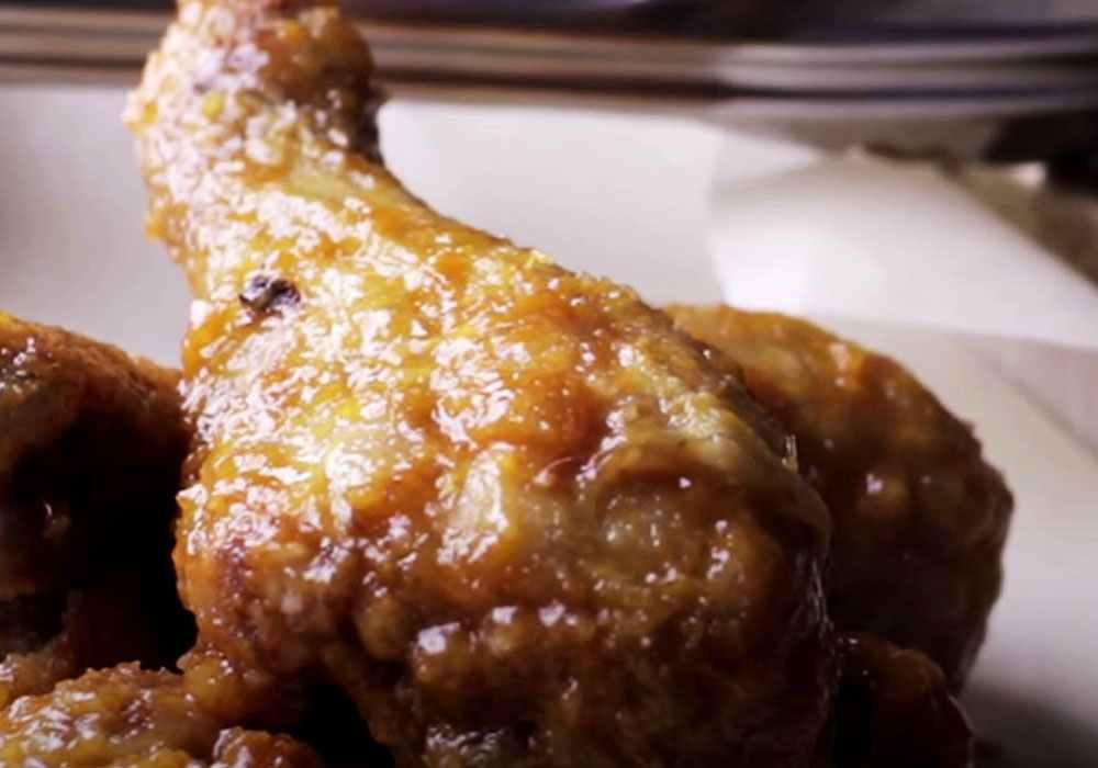 Курица с чесноком в майонезе в духовке - пошаговый рецепт, фото 1