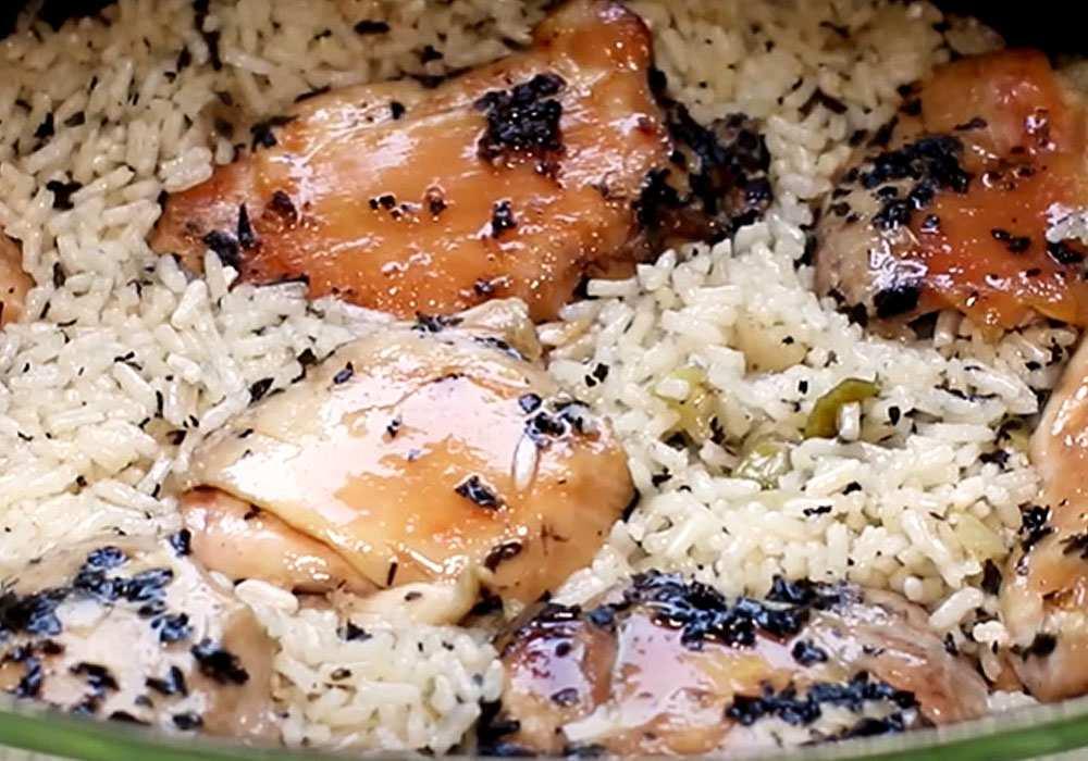 Курица с рисом (в мультиварке) - пошаговый рецепт, фото 1