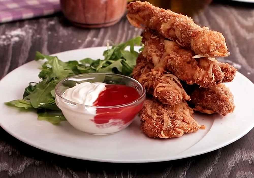 Курица с сыром в духовке - пошаговый рецепт, фото 1