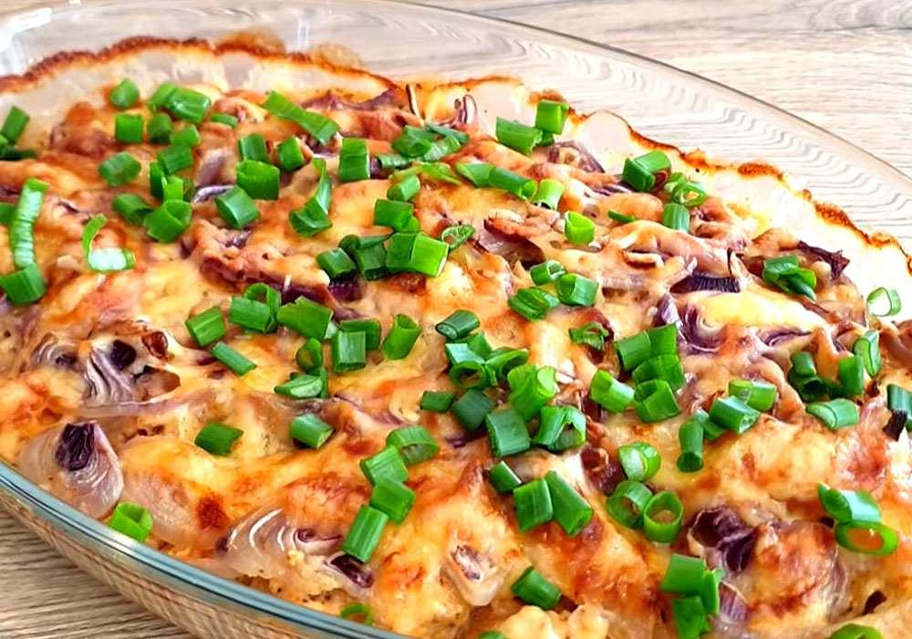 Курка в вершковому соусі в духовці - покроковий рецепт, фото 1