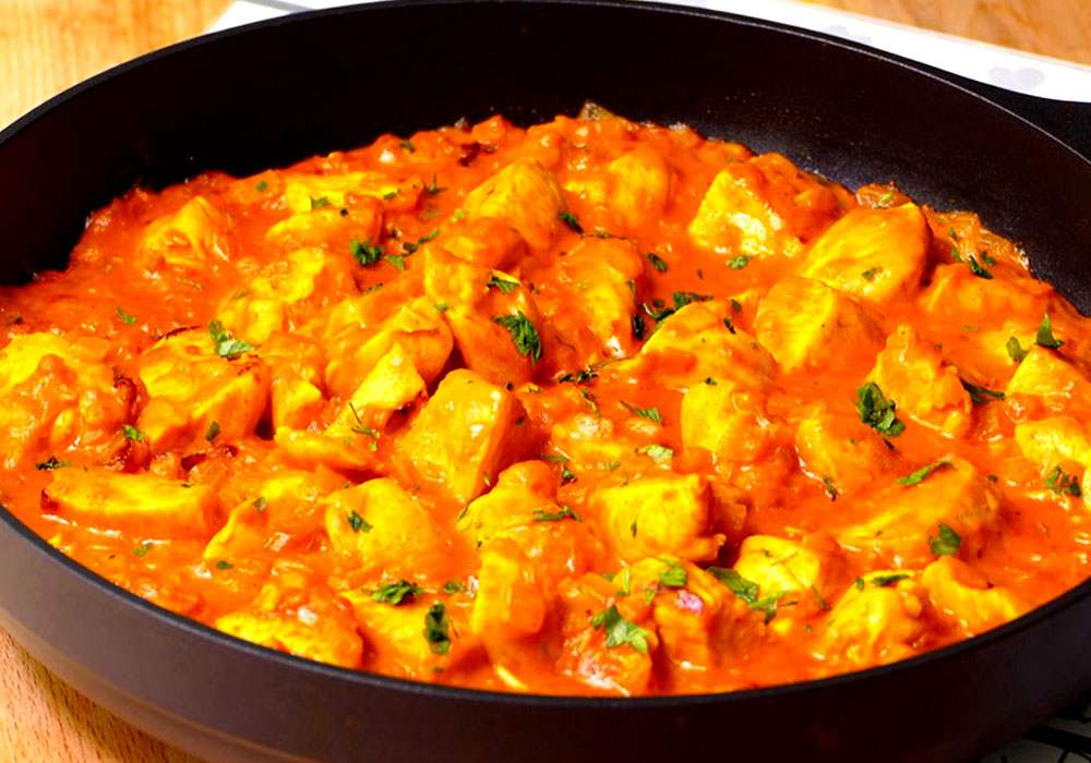 Курка в соусі карі - покроковий рецепт, фото 1