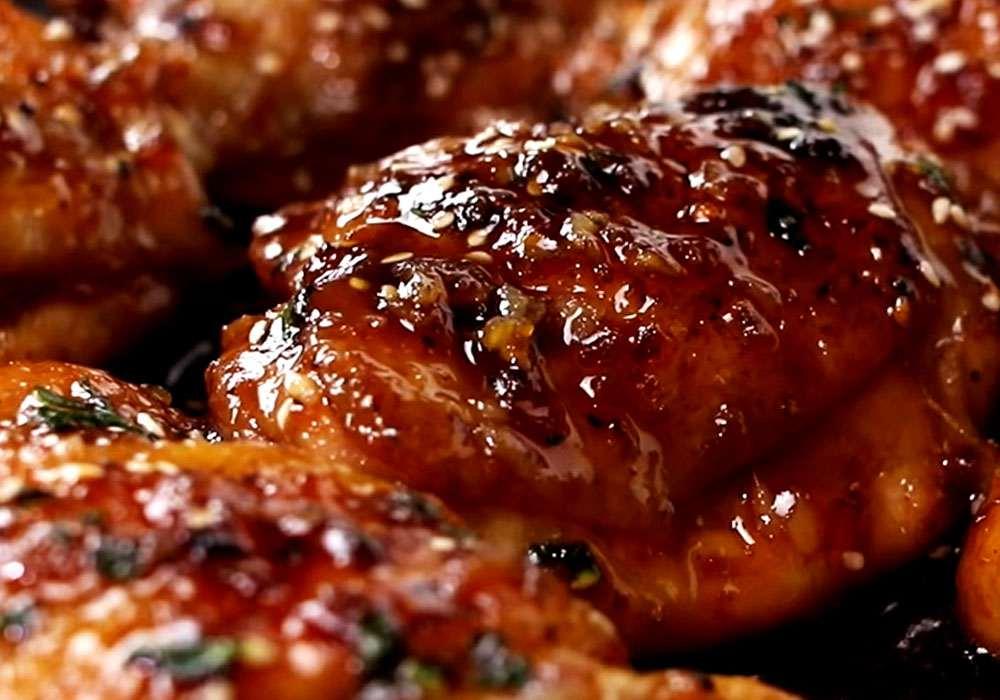 Курка в соєвому соусі з медом - покроковий рецепт, фото 1