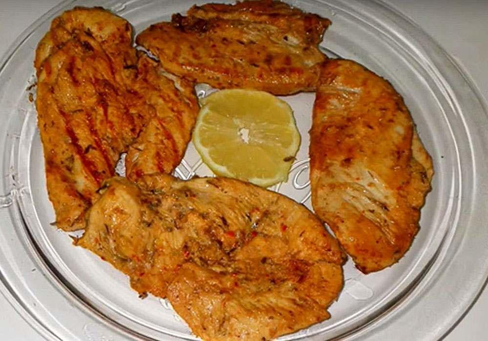 Куриный эскалоп на сковородке гриль - пошаговый рецепт, фото 1