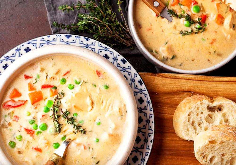 Курячий суп по-домашньому - покроковий рецепт, фото 1