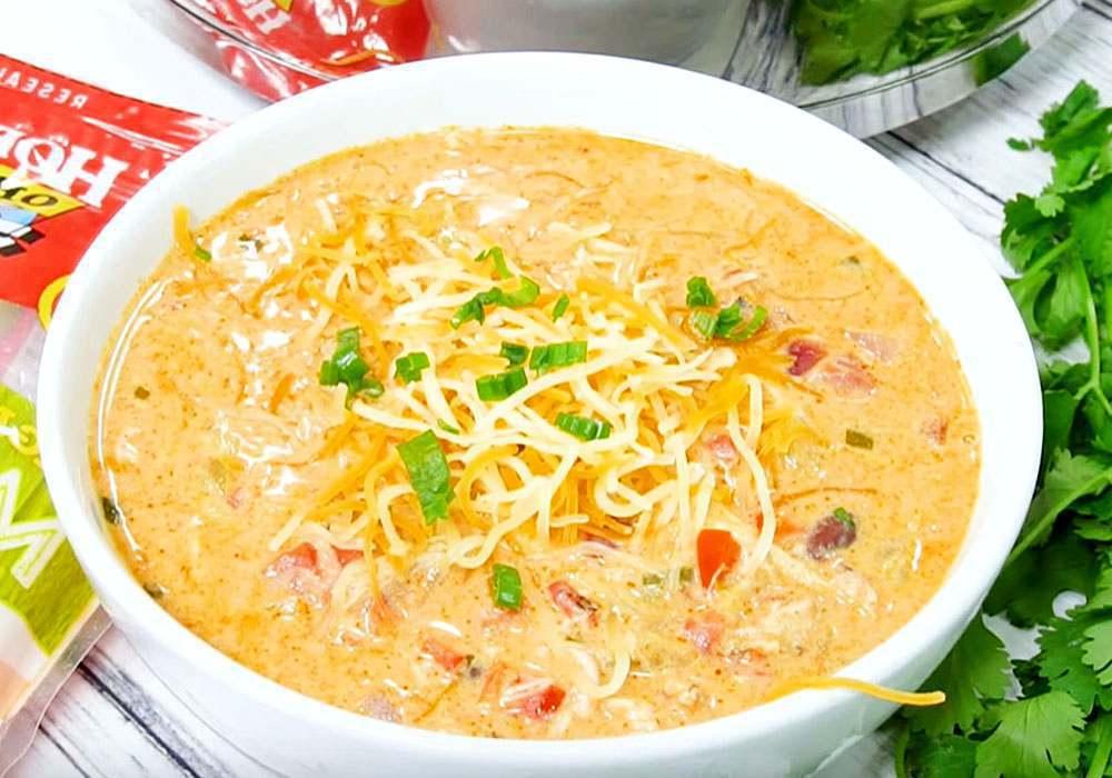 Курячий суп з плавленим сиром - покроковий рецепт, фото 1