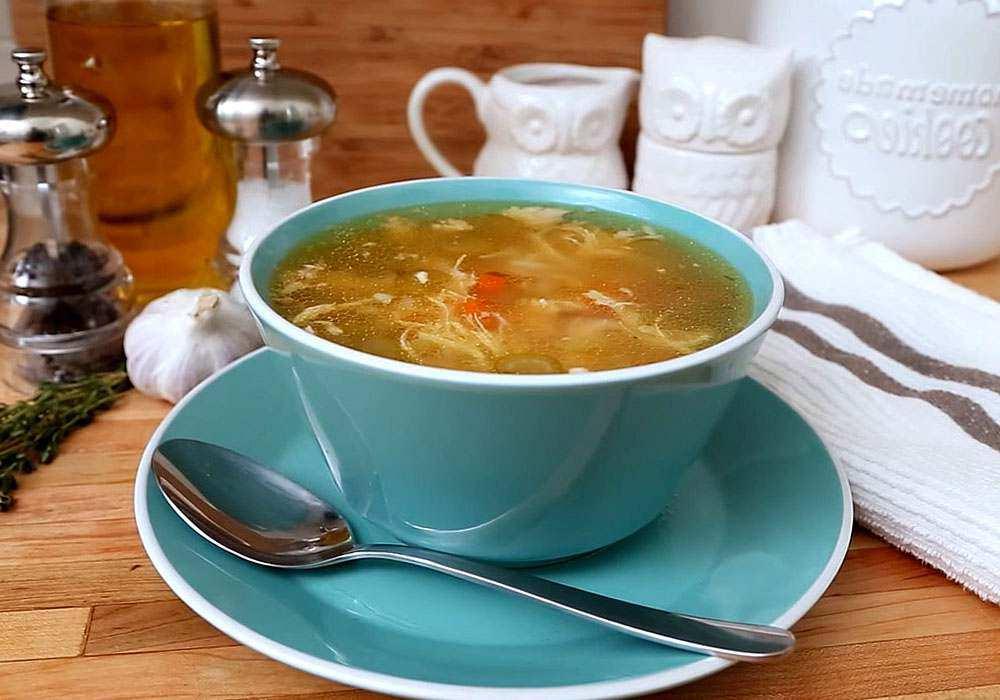 Куриный суп - пошаговый рецепт, фото 1