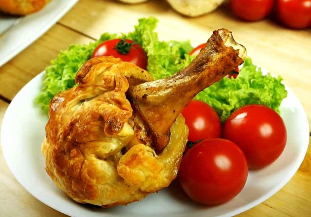 Куриные голени, запеченные в слоеном тесте - пошаговый рецепт, фото 1
