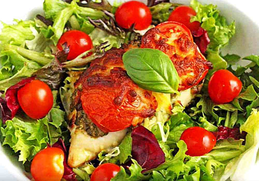Куриные грудки с сыром и помидорами в духовке - пошаговый рецепт, фото 1