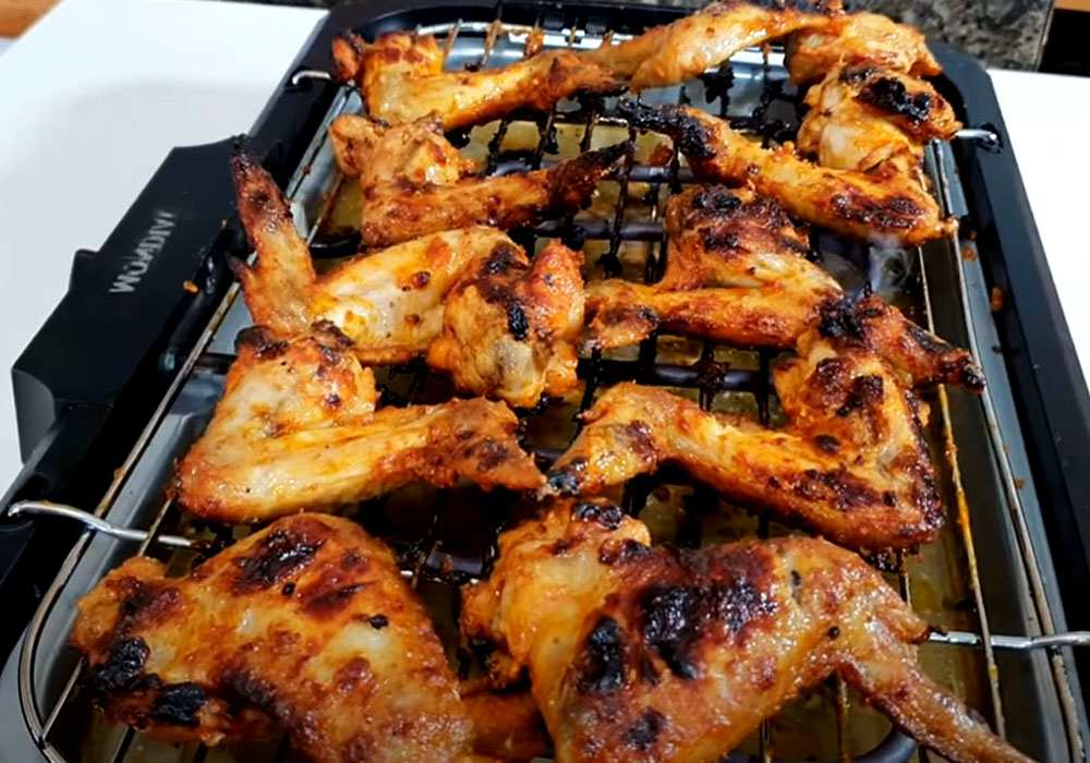 Куриные крылышки на гриле - пошаговый рецепт, фото 1