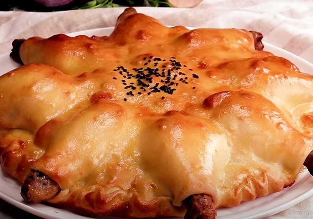 Курячі стегенця в тісті з овочами - покроковий рецепт, фото 1