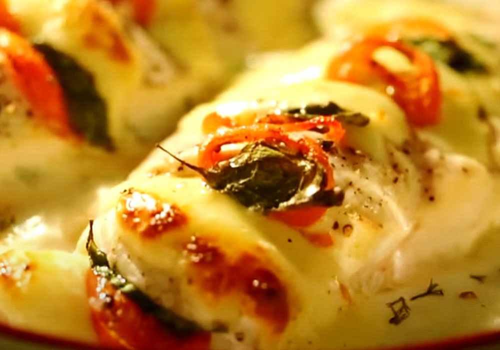 Куряче філе грудки в сметані в духовці - покроковий рецепт, фото 1