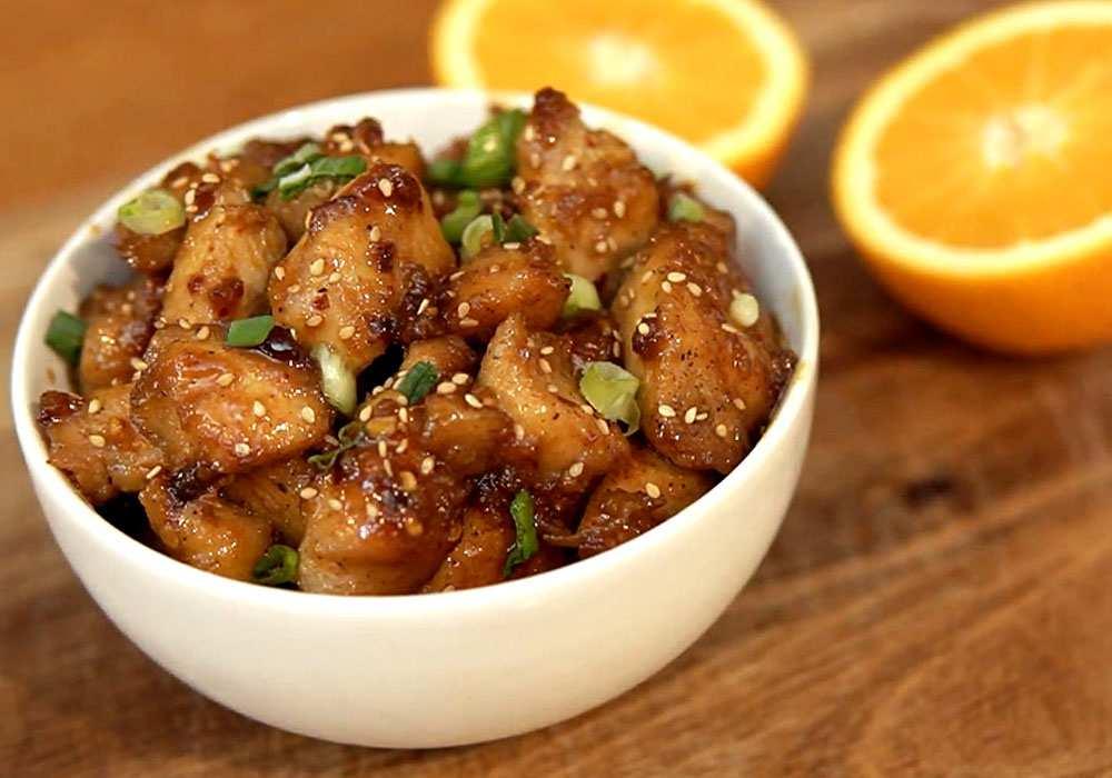 Куриное филе с апельсином - пошаговый рецепт, фото 1