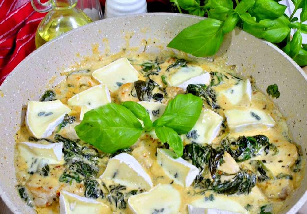 Куриное филе со сметанным соусом - пошаговый рецепт, фото 1