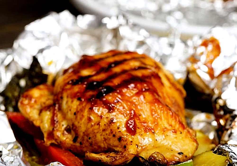 Куриное филе в фольге в духовке - пошаговый рецепт, фото 1