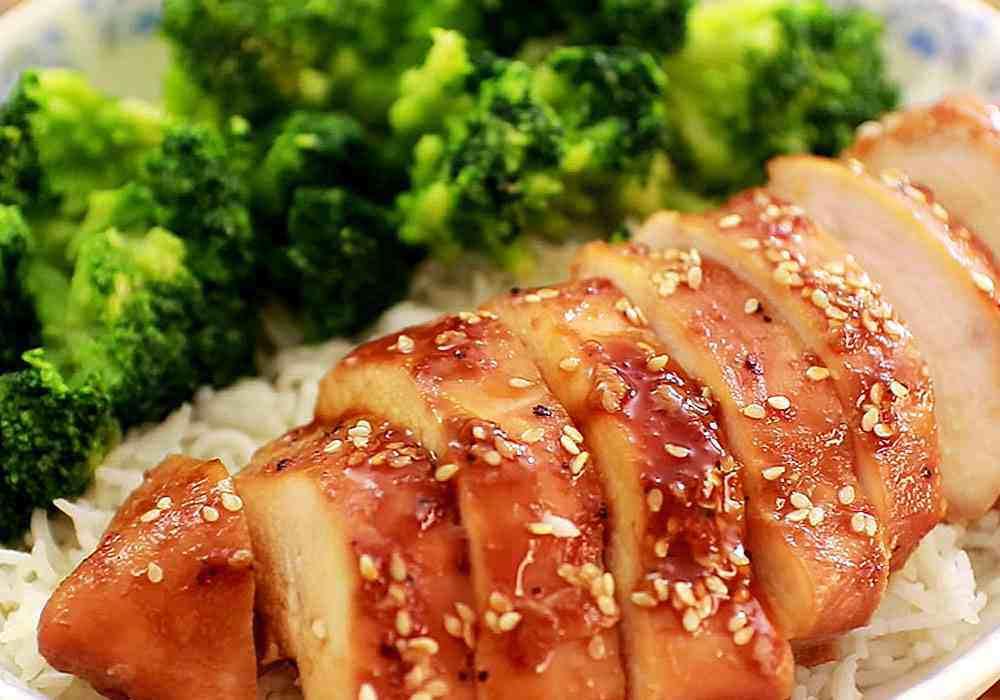 Куриное филе в соевом соусе с чесноком и кунжутом - пошаговый рецепт, фото 1