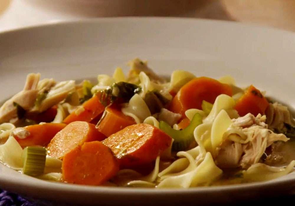 Домашний куриный суп - пошаговый рецепт, фото 1