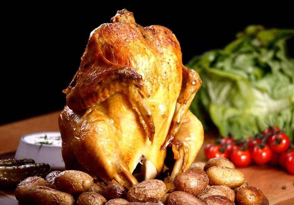Курица в банке - пошаговый рецепт, фото 1