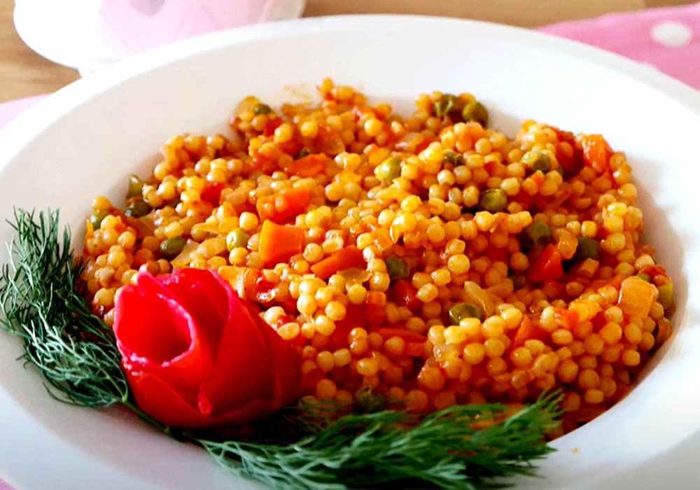 Кускус з овочами - покроковий рецепт, фото 1