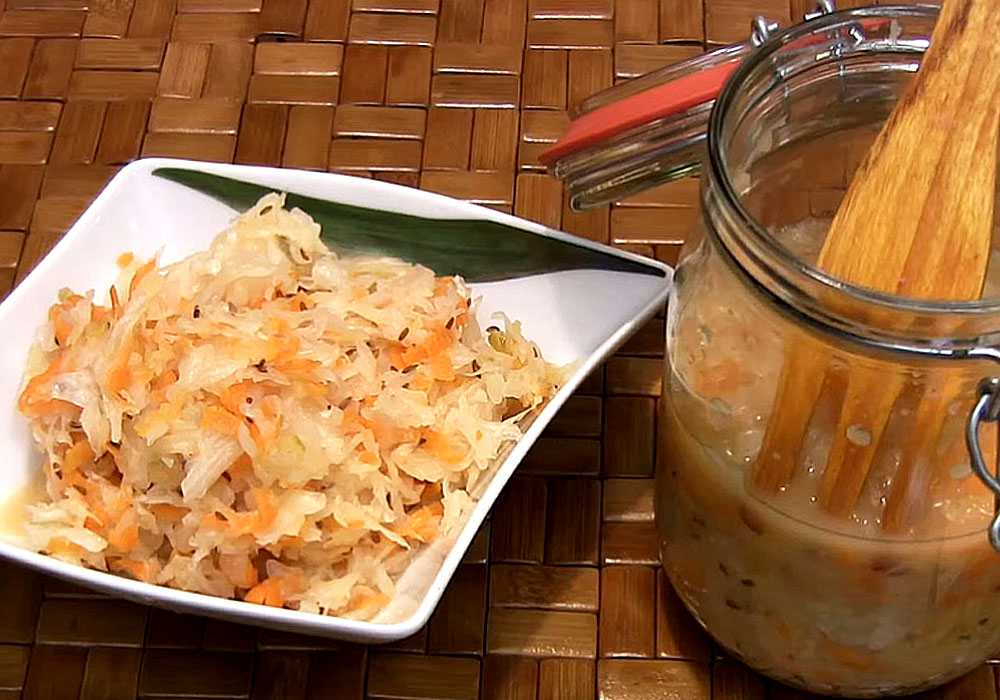 Квашеная капуста по-грузински - пошаговый рецепт, фото 1