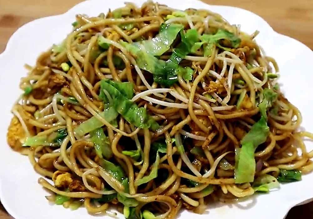 Локшина по-китайськи - покроковий рецепт, фото 1