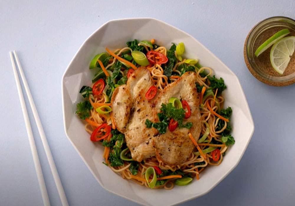 Локшина з м'ясом і овочами - покроковий рецепт, фото 1