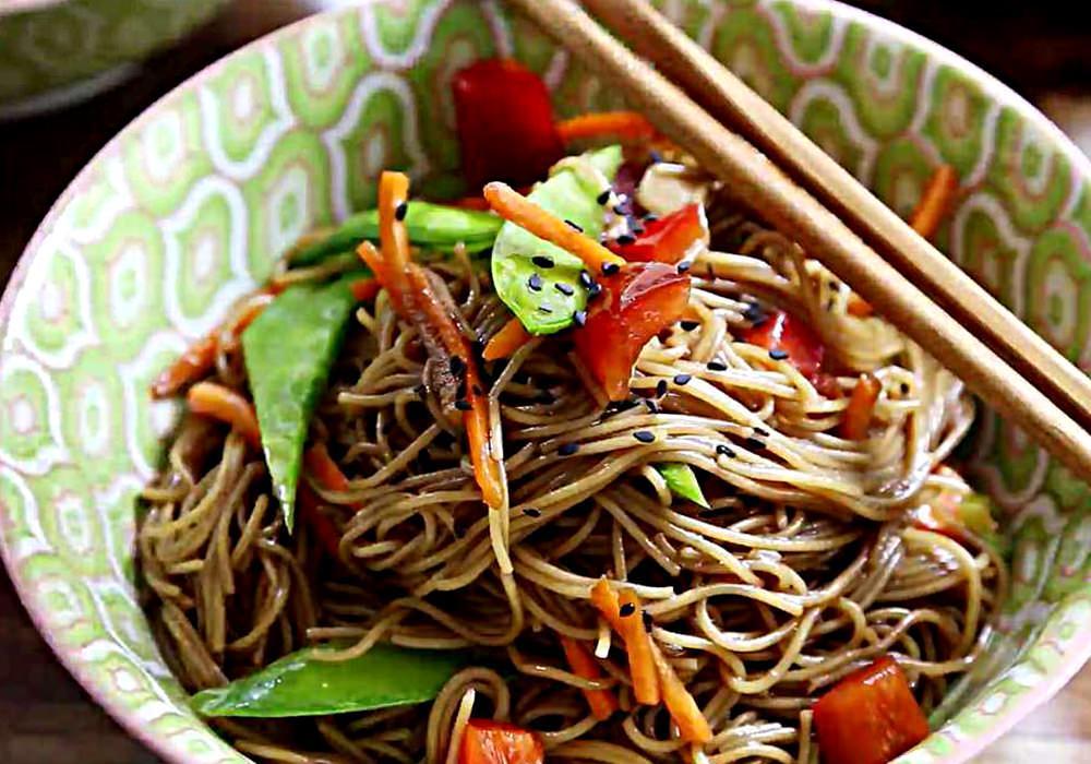 Локшина з овочами - покроковий рецепт, фото 1