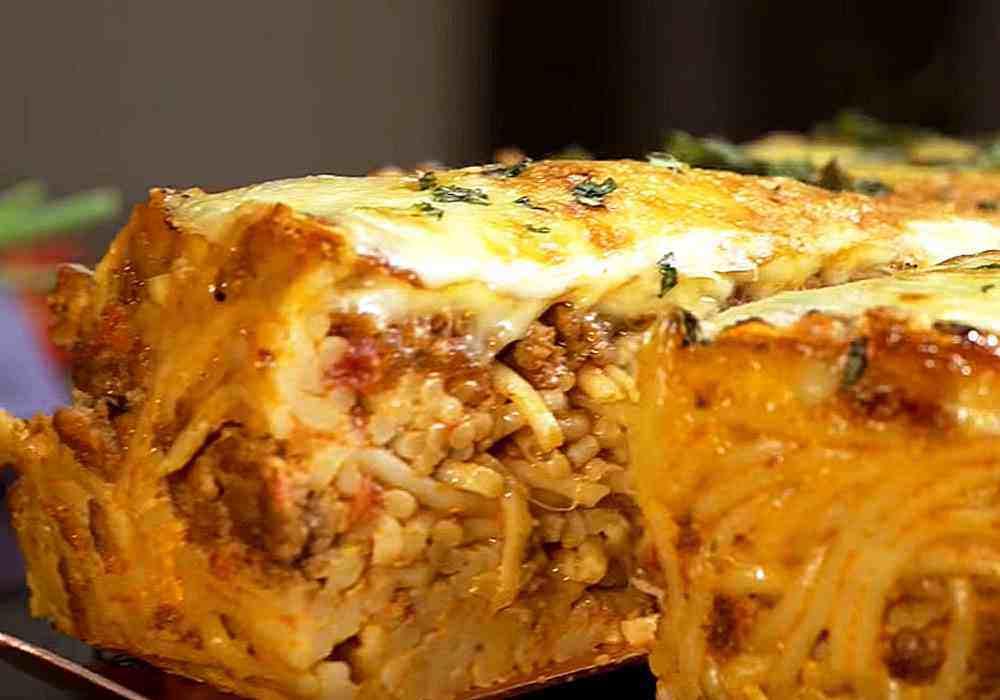 Лапшевник із макаронів в духовці з яйцем - покроковий рецепт, фото 1