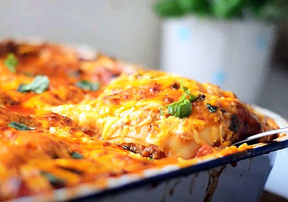 Лазанья з соусом бешамель - покроковий рецепт, фото 1