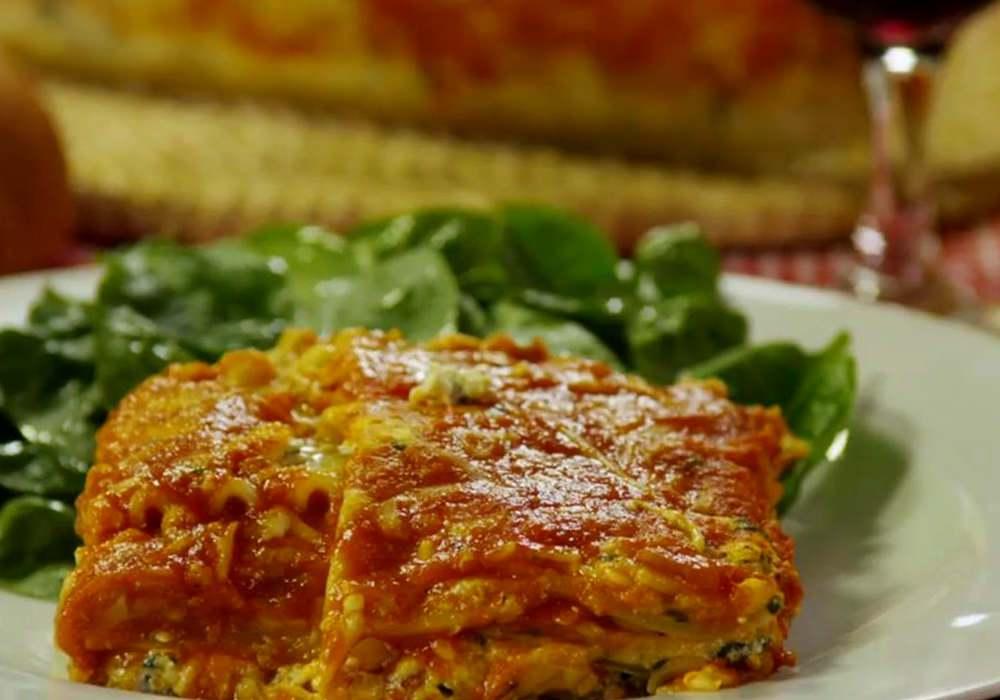 Лазанья зі шпинатом - покроковий рецепт, фото 1