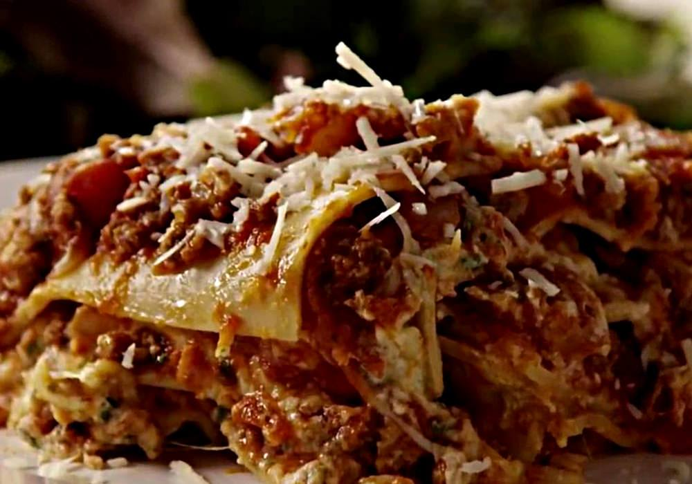 Лазанья с соусом Болоньезе - пошаговый рецепт, фото 1
