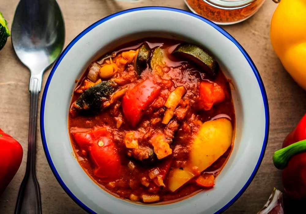 Лечо из кабачков - пошаговый рецепт, фото 1