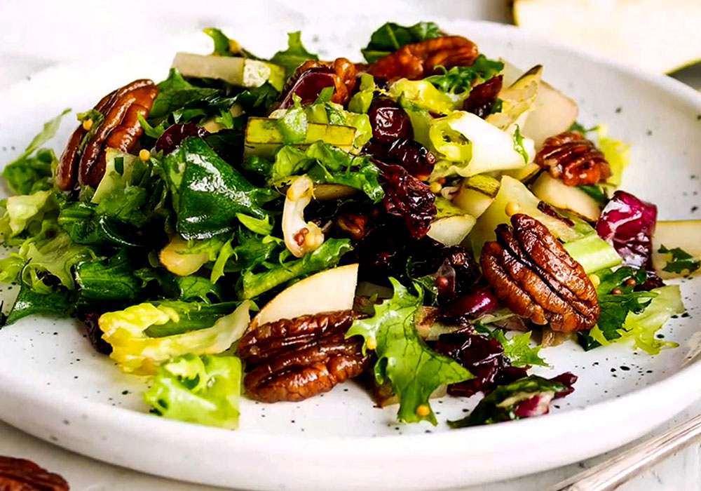 Легкий салат з грушею - покроковий рецепт, фото 1