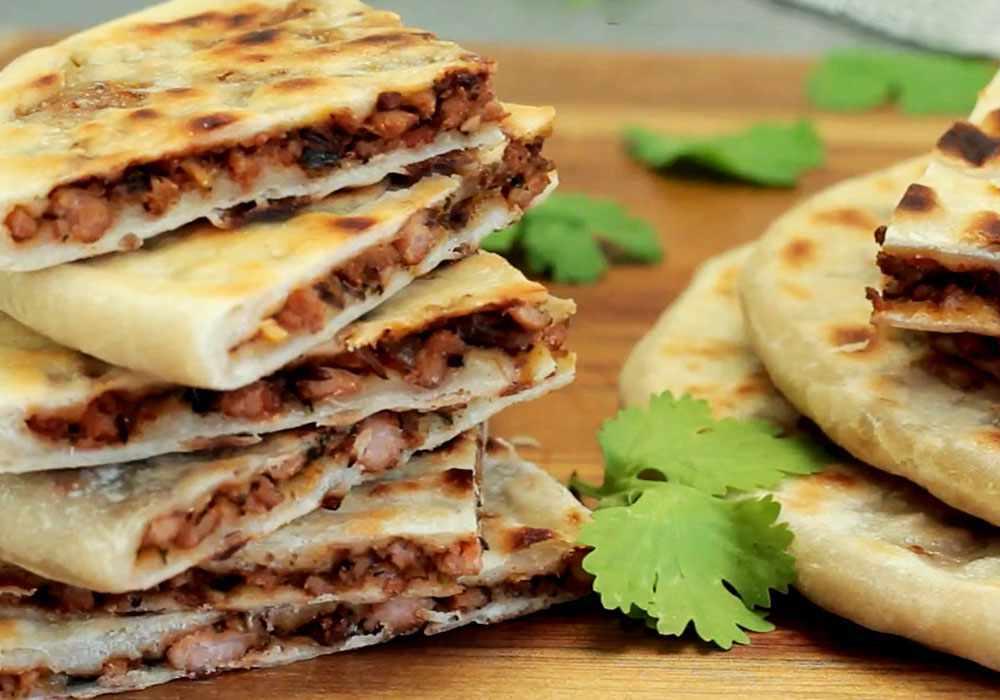 Лепешки с мясом - пошаговый рецепт, фото 1