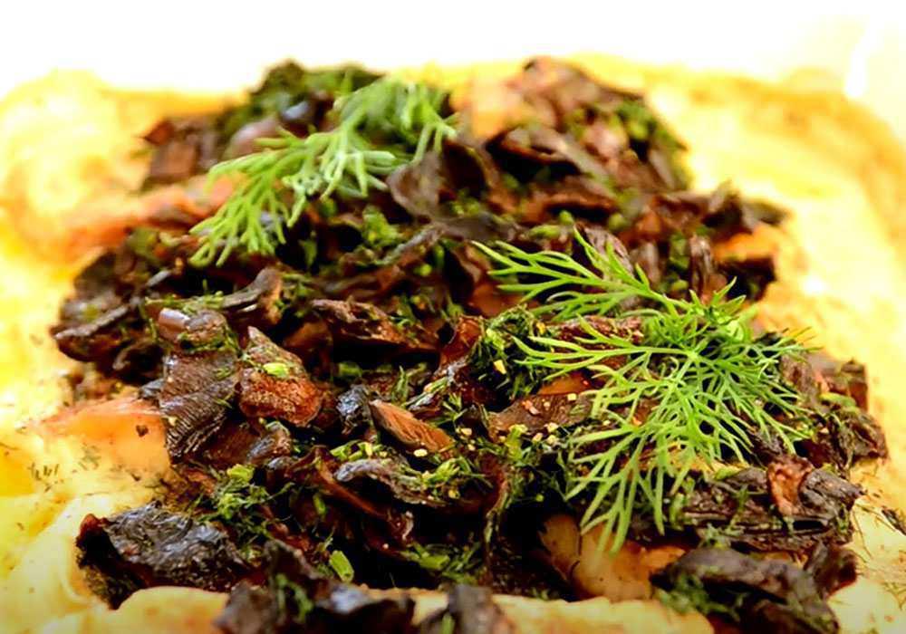 Лящ запечений з грибами в сметані - покроковий рецепт, фото 1