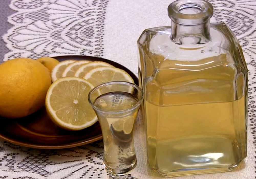 Лимонная водка - пошаговый рецепт, фото 1