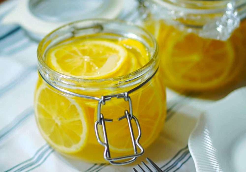 Лимонний тонізуючий напій - покроковий рецепт, фото 1