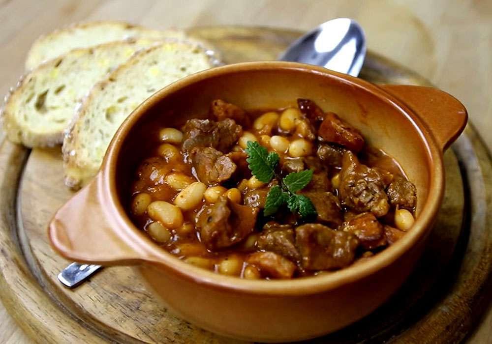 Лобио с мясом - пошаговый рецепт, фото 1