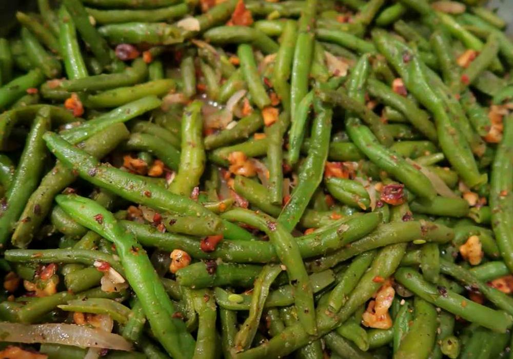 Лобио с орехами - пошаговый рецепт, фото 1