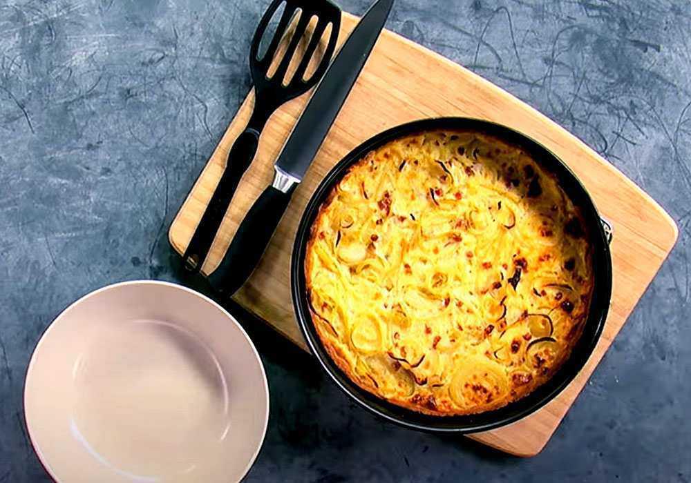 Луковый пирог - пошаговый рецепт, фото 1