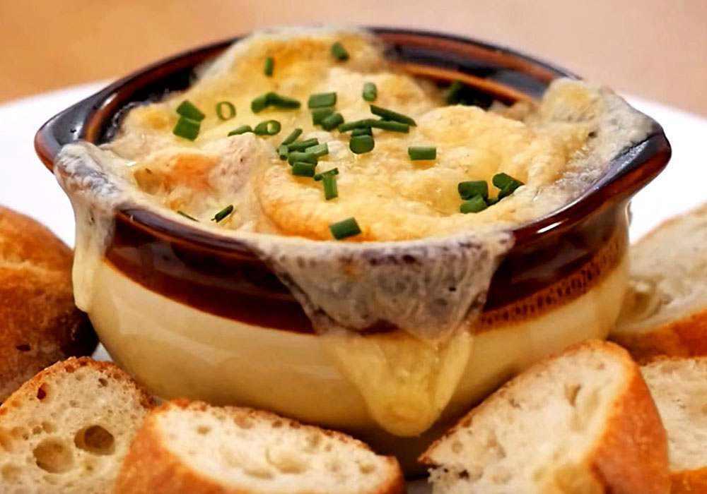 Луковый суп в мультиварке - пошаговый рецепт, фото 1