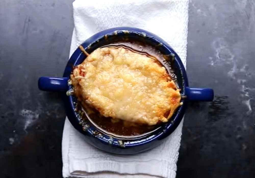 Луковый суп - пошаговый рецепт, фото 1