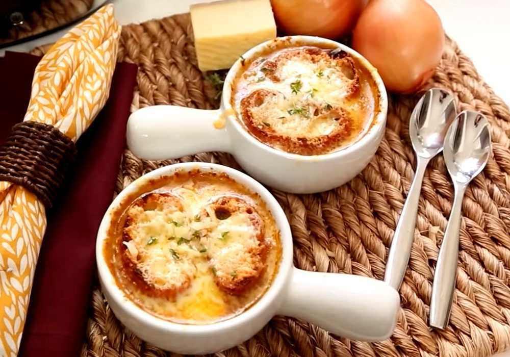Классический луковый суп - пошаговый рецепт, фото 1