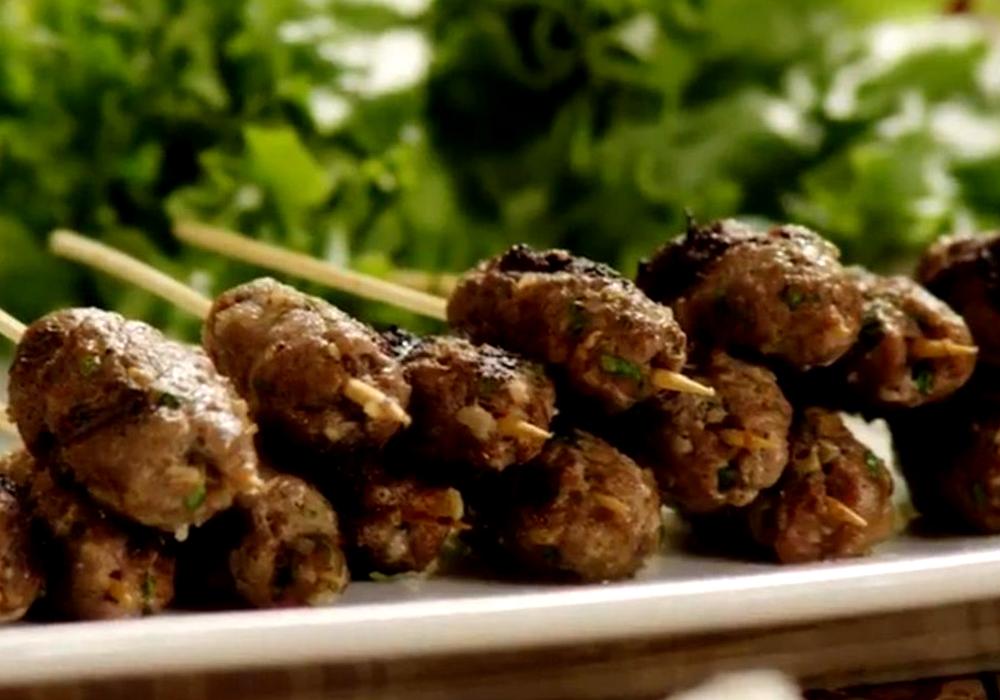 Люля кебаб из баранины - пошаговый рецепт, фото 1
