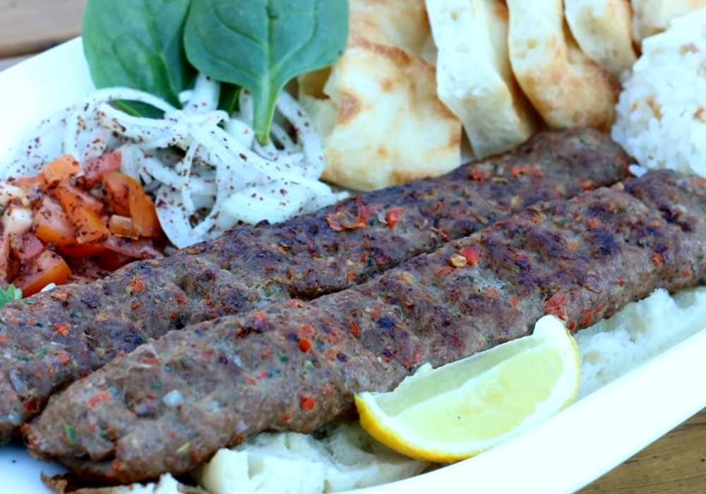 Люля кебаб из говядины на мангале - пошаговый рецепт, фото 1