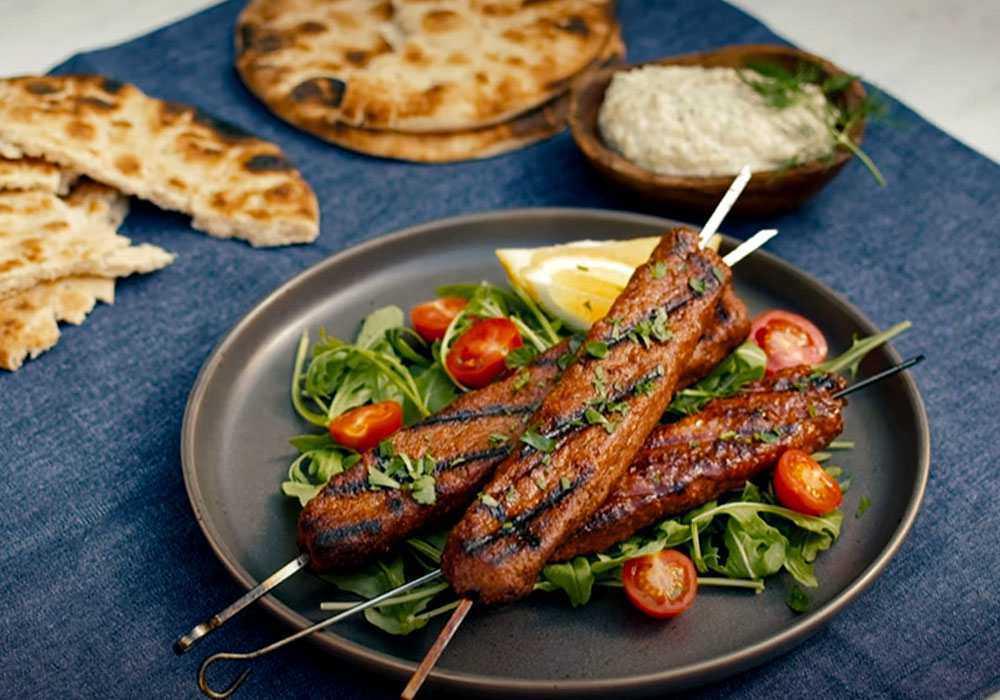 Люля кебаб з яловичини з зеленню - покроковий рецепт, фото 1