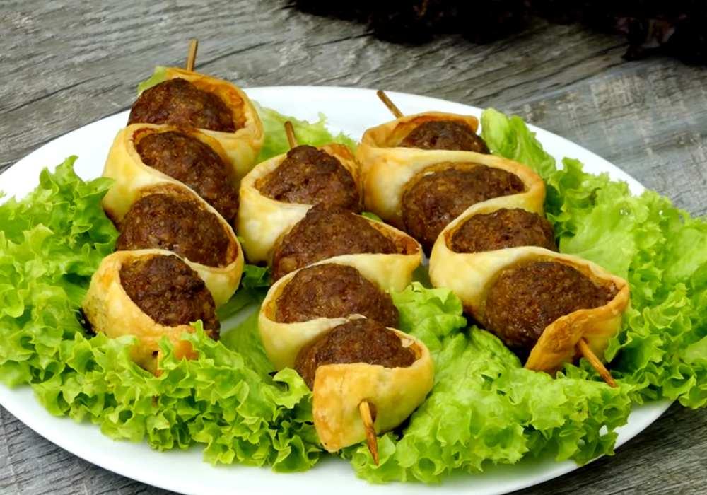 Люля кебаб из говядины в духовке - пошаговый рецепт, фото 1