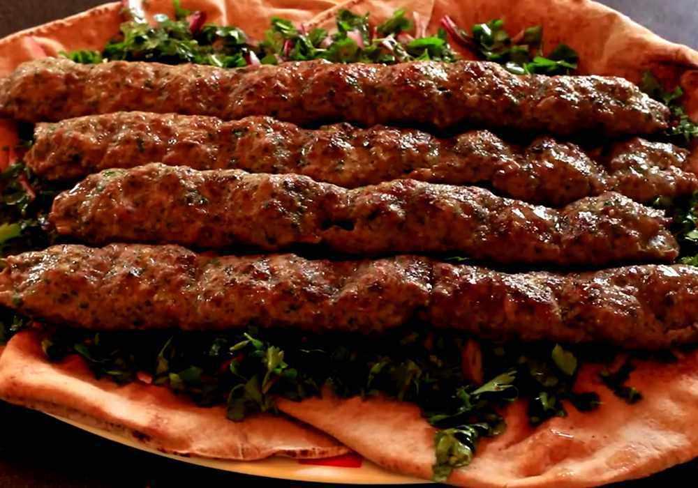 Люля кебаб на костре - пошаговый рецепт, фото 1